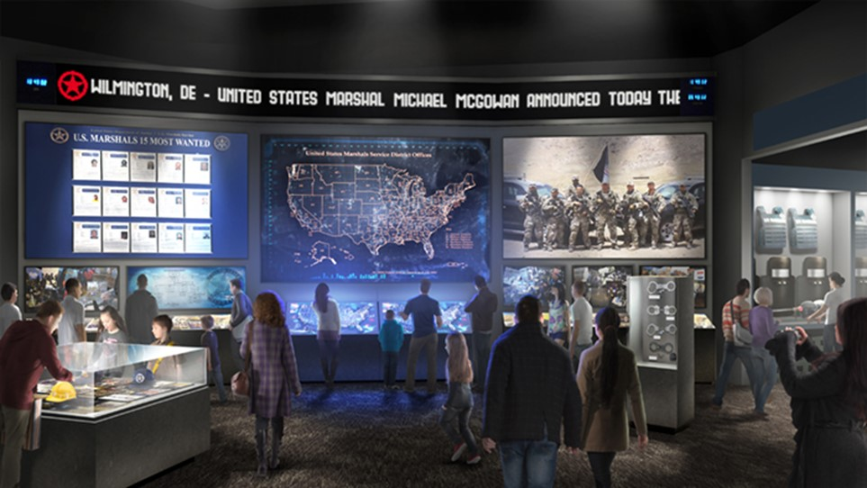 Exhibits | Modern Marshals | The U.S. Marshals Museum