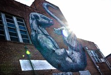 The Otter by ROA