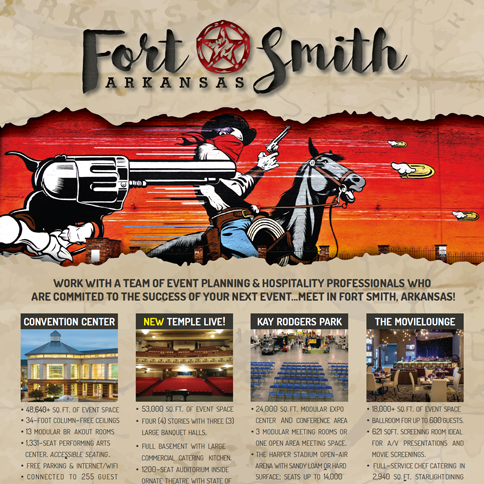 Fort Smith Conventions One Sheet