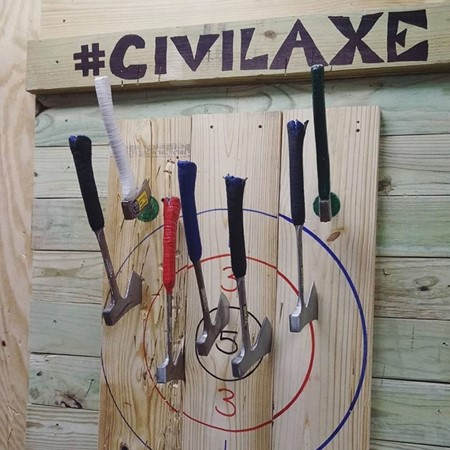 Civil Axe Throwing image