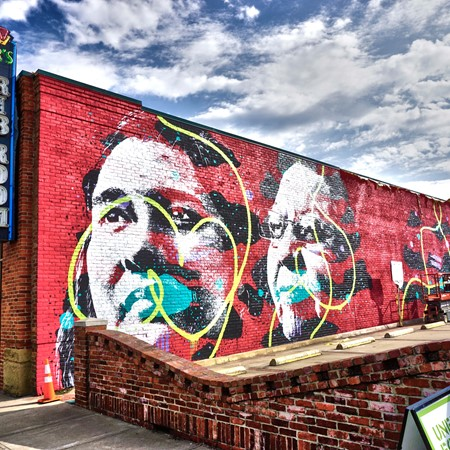 street art cherokee mural by askew experience fort smith