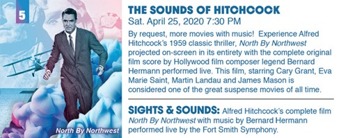 Fort Smith Symphony Presents: The Sounds of Hitchcock