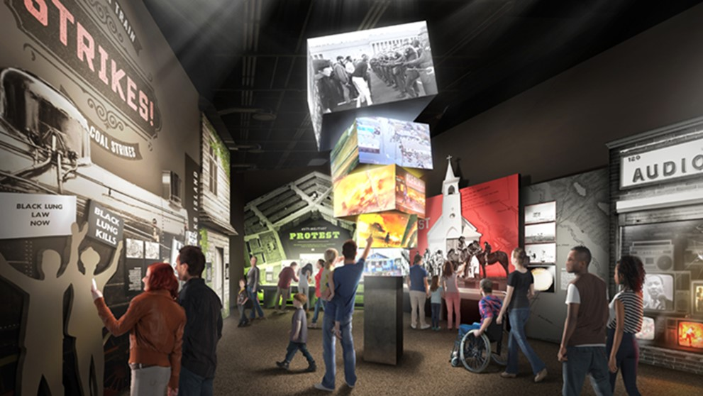 Exhibits | A Changing Nation | The U.S. Marshals Museum